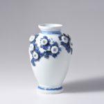 平戸菊花飾花瓶
